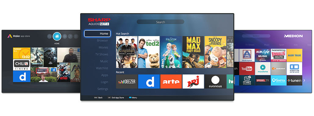 Foxxum - Smart TV Excellence